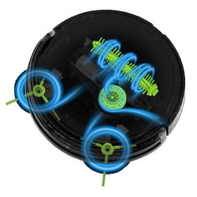 třístupňové čištění Robotický vysavač  ILIFE A4s