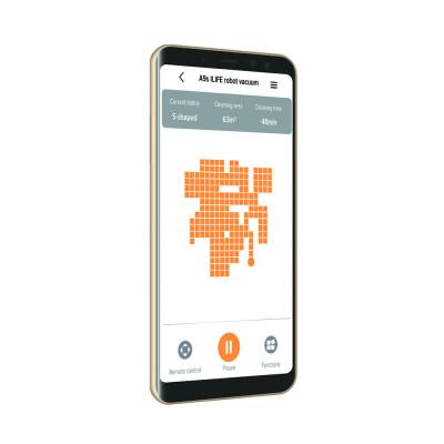 aplikace robotický vysavač ILIFE A9s