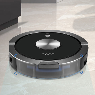 nejvýkonnější  robotický vysavač ZACO A9s