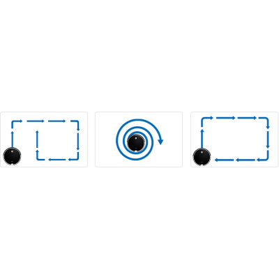 režim práce Robotický vysavač ZACO A6