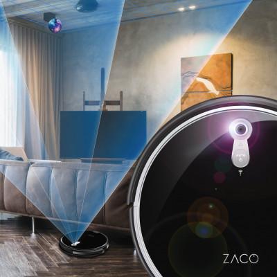 skenování kamerou Robotický vysavač ZACO A8s
