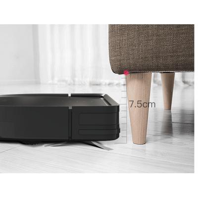 Robotický vysavač Dibea DT969 pouze 7,5 cm vysoký