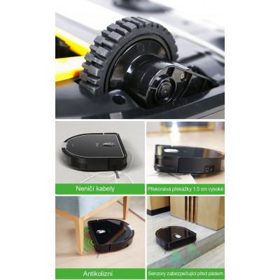 nejlepší kolečka Robotický vysavač Dibea D960