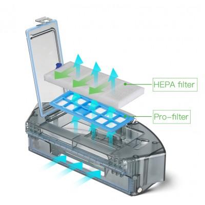 Filtr HEPA Robotický vysavač Dibea D960