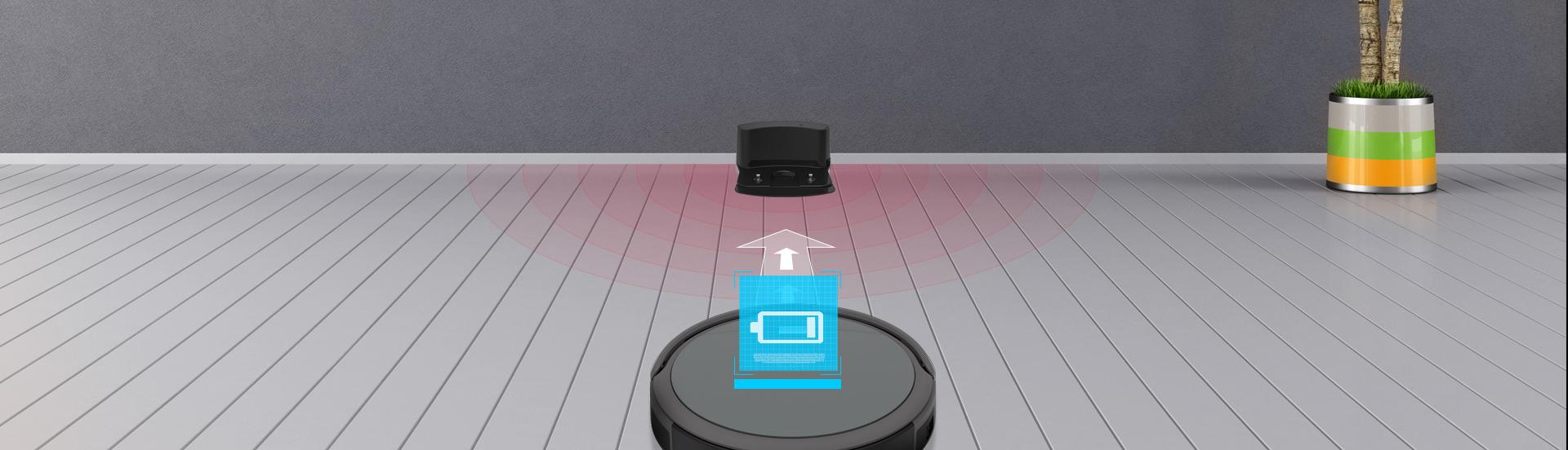 Robot ZACO A4s automaticé dobijení